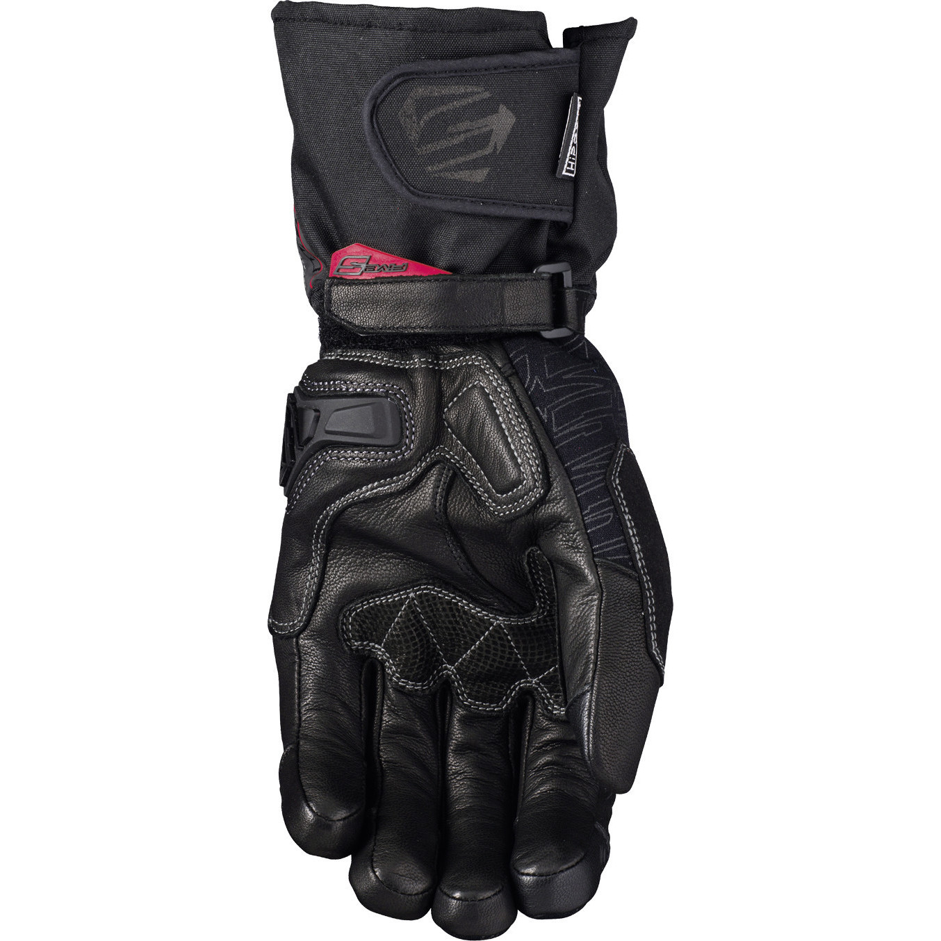 Five-WFX-Tech-Leather-Motorcycle-Gloves-Waterproof-Thermal-Bike-Motorbike-Armour thumbnail 6
