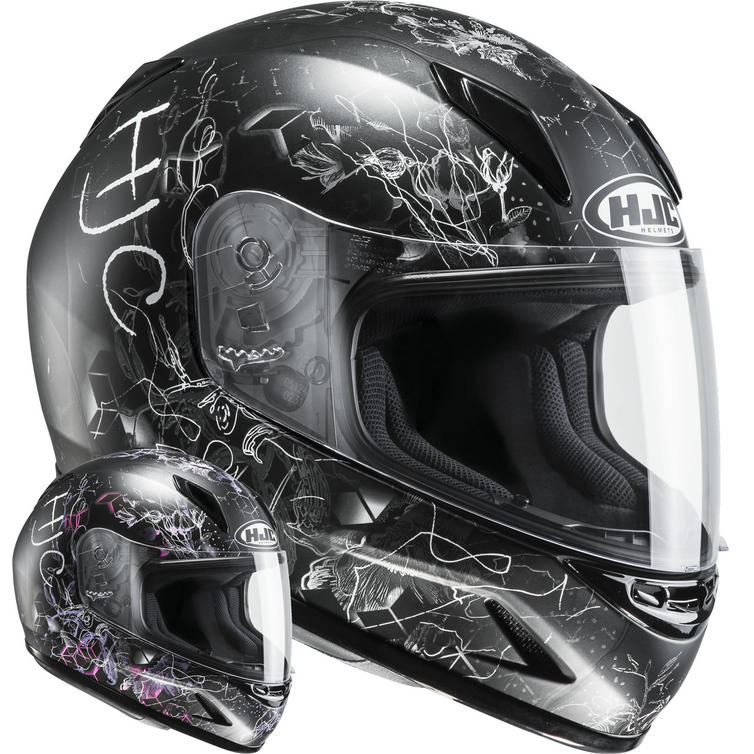 HJC CL-Y Vela Ladies Motorcycle Helmet