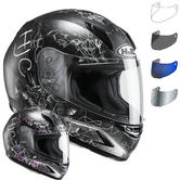 HJC CL-Y Vela Ladies Motorcycle Helmet & Visor