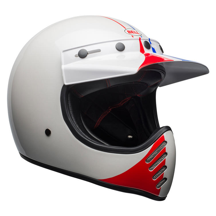 Bell Moto-3 Ace Cafe GP 66 Motorcycle Helmet