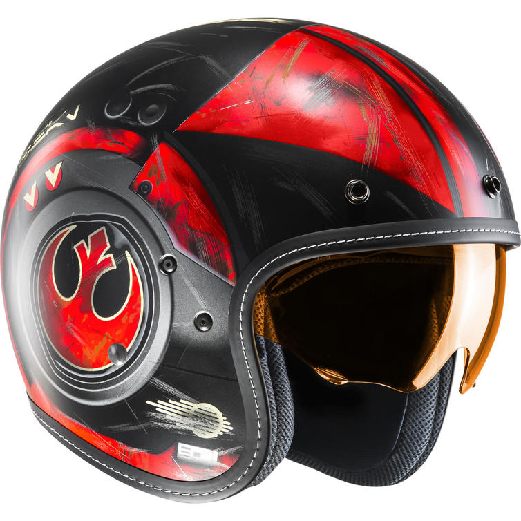HJC FG-70S Poe Dameron Star Wars Open Face Motorcycle Helmet