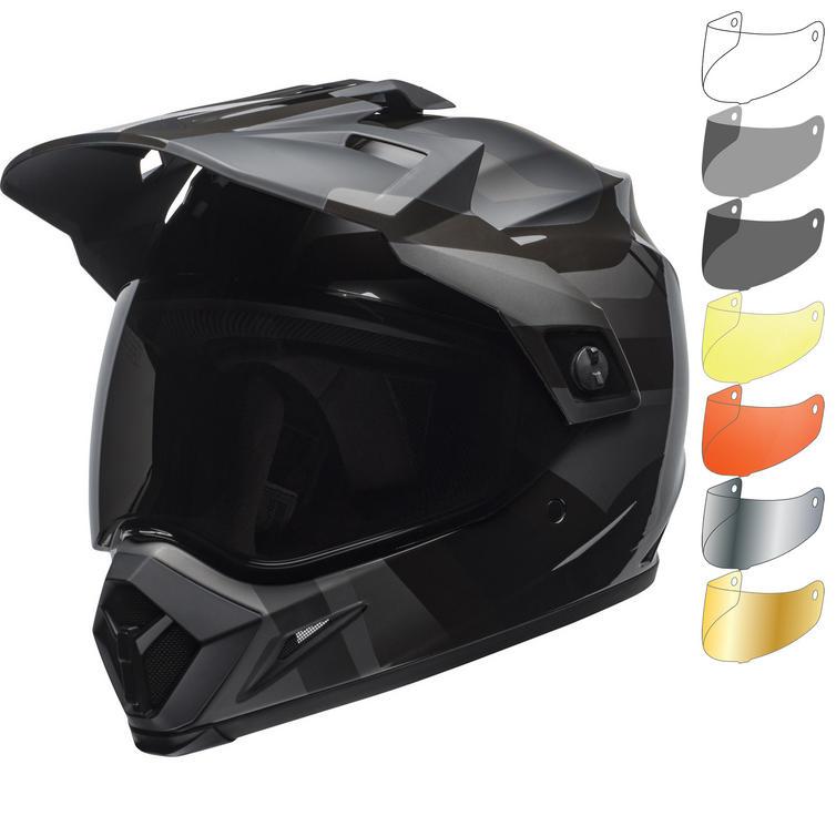 Bell MX-9 Adventure MIPS Marauder Blackout Dual Sport Helmet & Visor