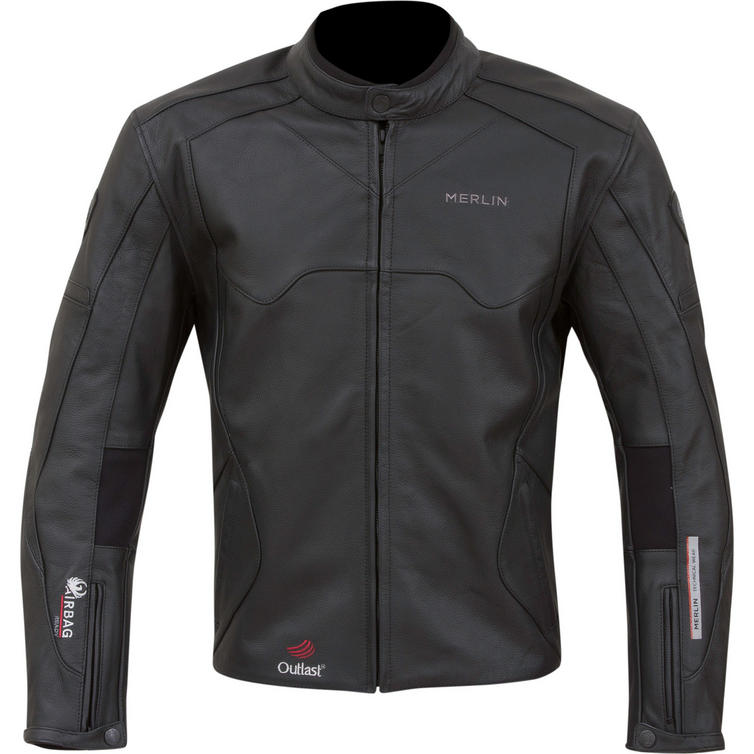 Merlin Hunter Airbag Ready Leather Motorcycle Jacket