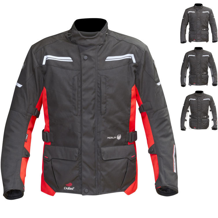 Merlin Columbia Outlast 2-in-1 Airbag Ready Motorcycle Jacket
