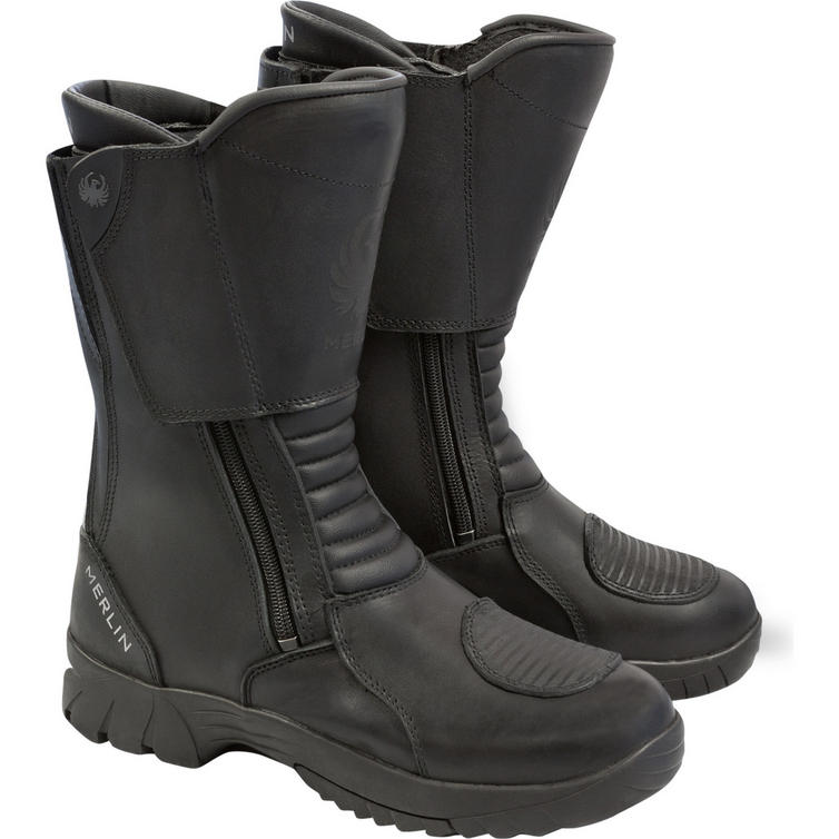 Merlin Titan Outlast Leather Motorcycle Boots