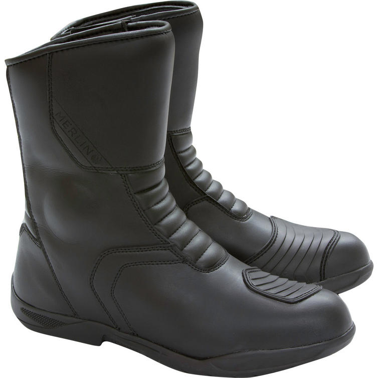 Merlin Zodiac Leather Motorcycle Boots