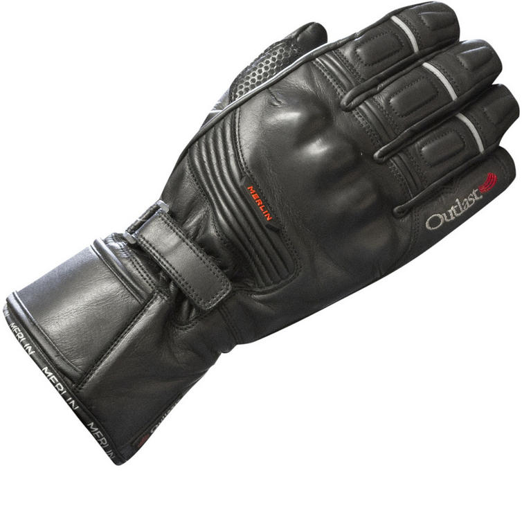 Merlin Halo Outlast Leather Motorcycle Gloves