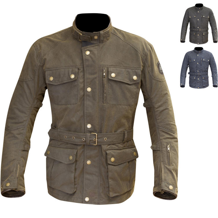 Merlin Atlow Wax Motorcycle Jacket