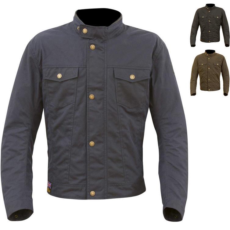 Merlin Anson Wax Motorcycle Jacket