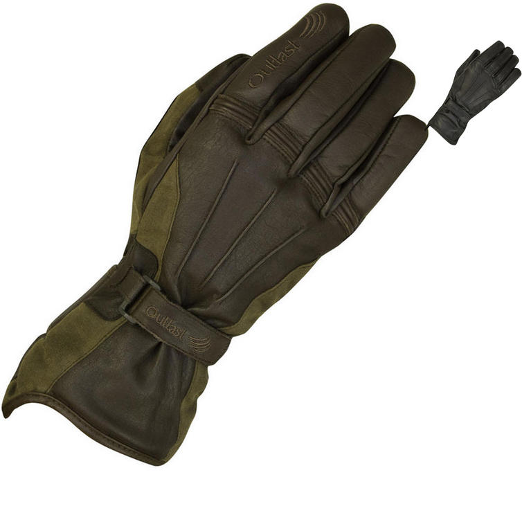 Merlin Darwin Outlast Wax Motorcycle Gloves