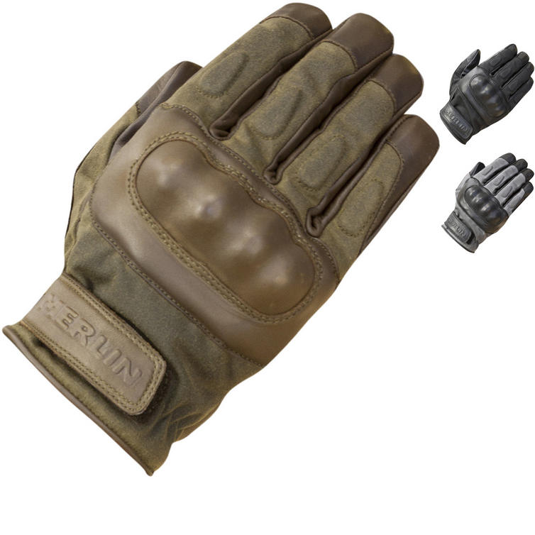 Merlin Ranton Wax Motorcycle Gloves