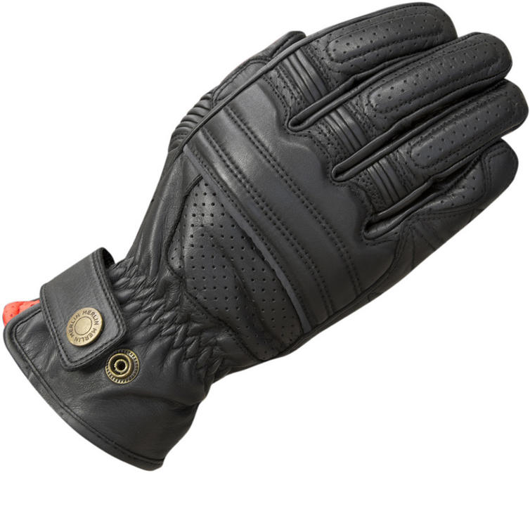 Merlin Bickford Leather Motorcycle Gloves