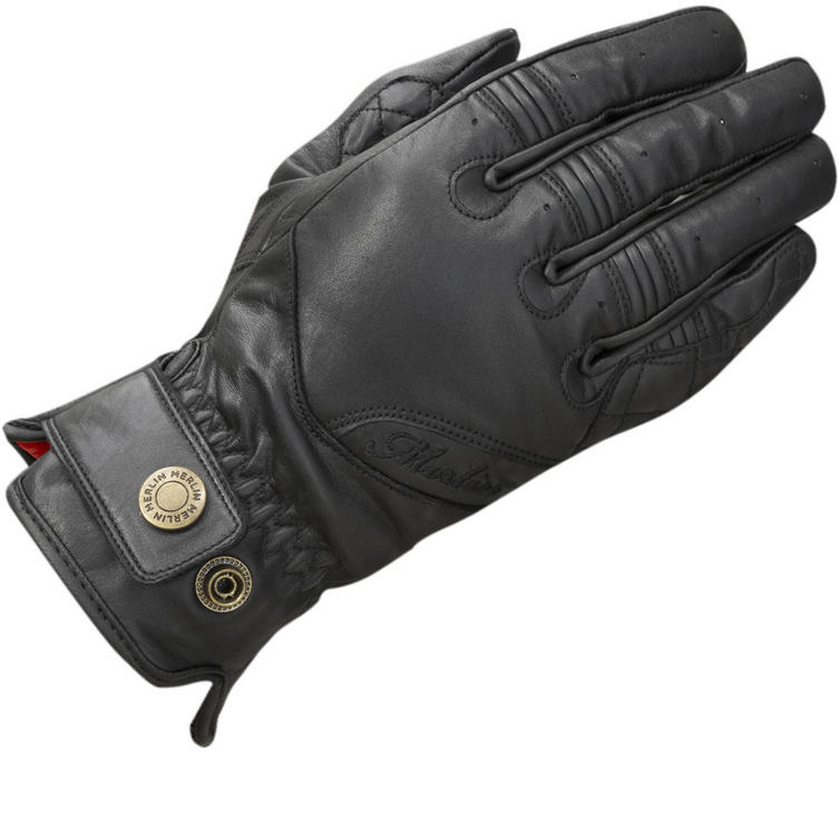 Merlin Levedale Ladies Leather Motorcycle Gloves