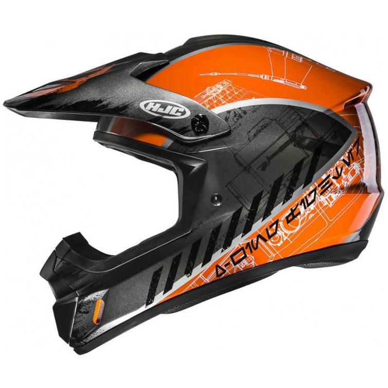 HJC CS-MX II Rebel X-Wing Star Wars Motocross Helmet