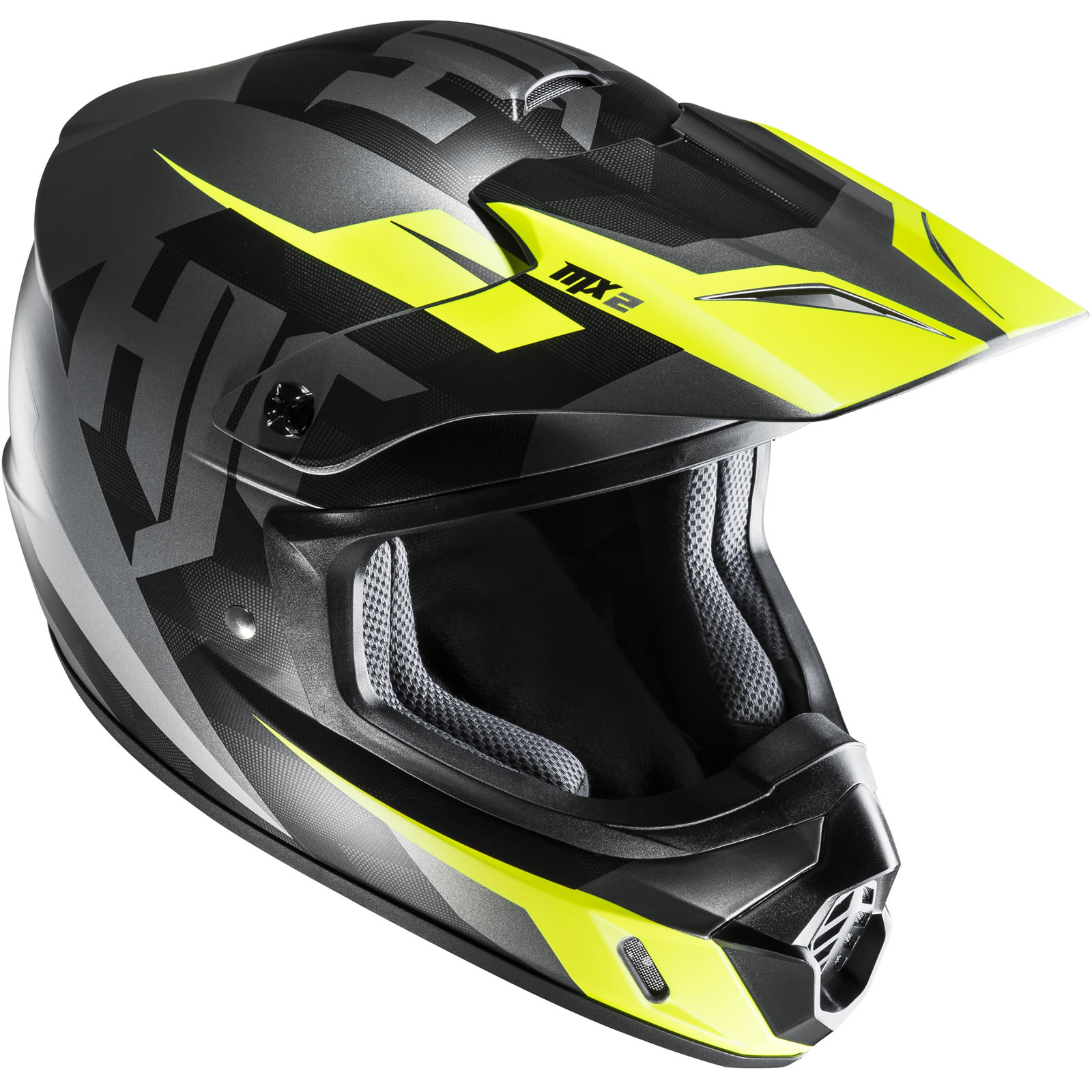 thumbnail 13 - HJC CS-MX II Dakota Motocross Helmet MX Off Road Supermoto Moto-X Supercross