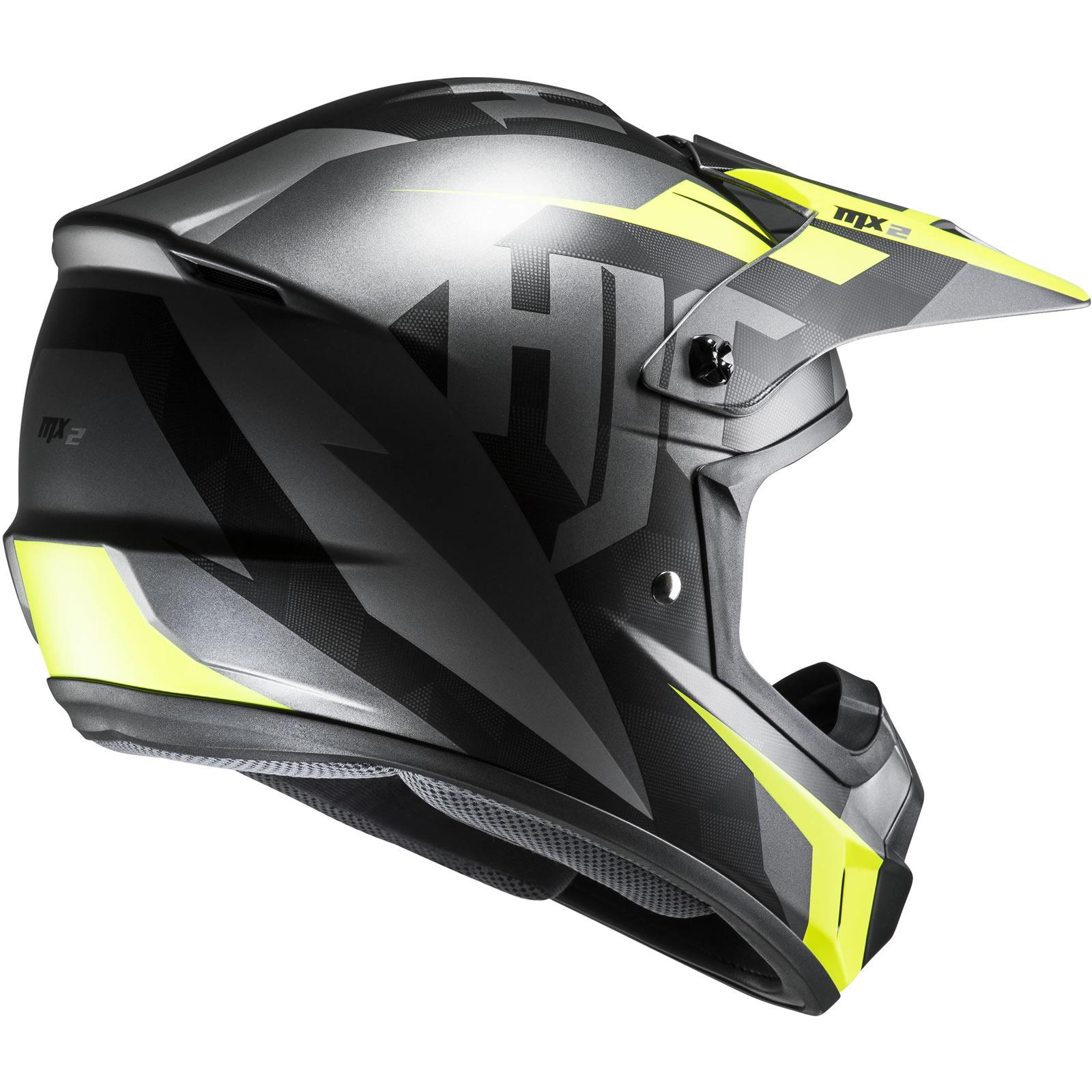 thumbnail 14 - HJC CS-MX II Dakota Motocross Helmet MX Off Road Supermoto Moto-X Supercross