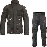 Merlin Horizon Outlast 3-in-1 Airbag Ready Motorcycle Jacket & Trousers Black Kit