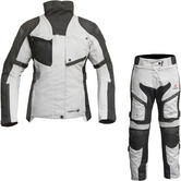 Merlin Venus Outlast 3-in-1 Airbag Ready Ladies Motorcycle Jacket & Trousers Black Ice Kit