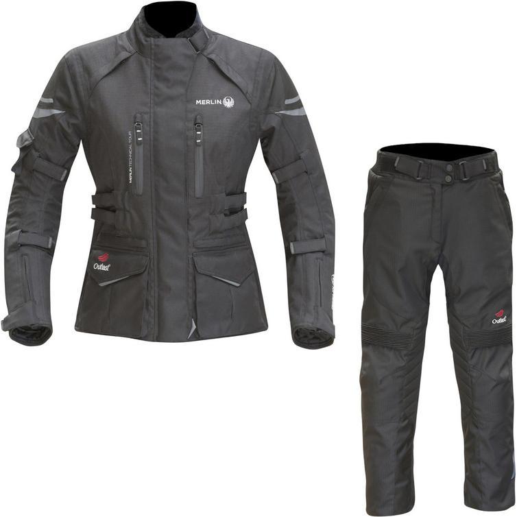 Merlin Gemini Outlast Ladies Motorcycle Jacket & Trousers Kit