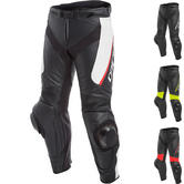 Dainese Delta 3 Leather Motorcycle Trousers