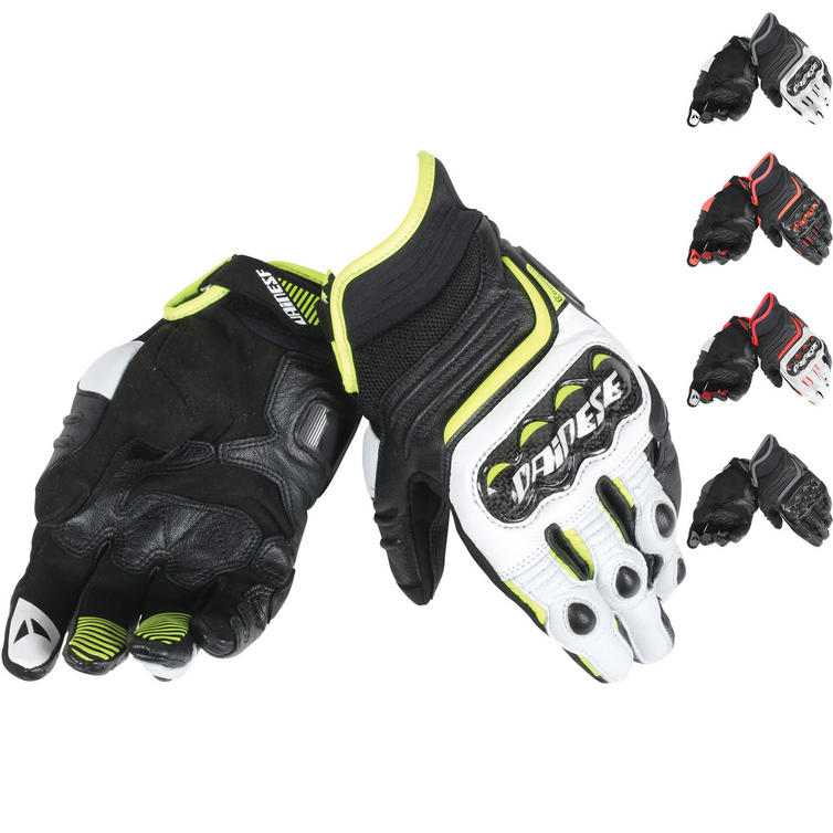 Dainese Carbon D1 Short Leather Motorcycle Gloves