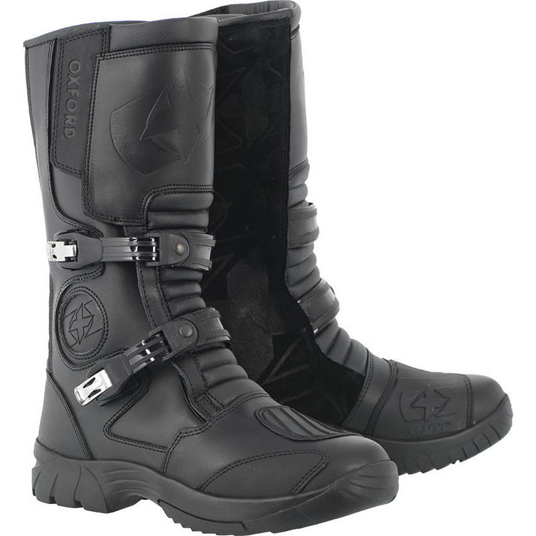 Oxford Explorer Leather Motorcycle Boots