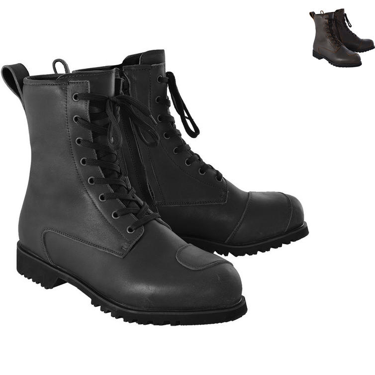 Oxford Merton Leather Motorcycle Boots