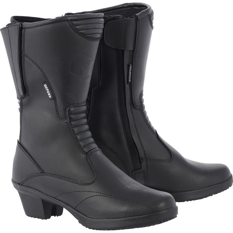 Oxford Valkyrie Ladies Leather Motorcycle Boots