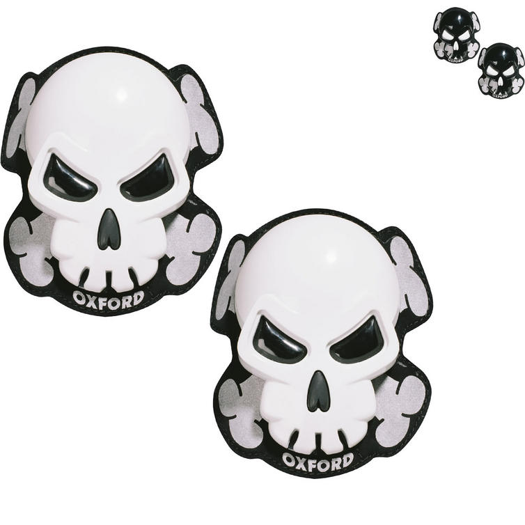 Oxford Skull Motorcycle Knee Sliders