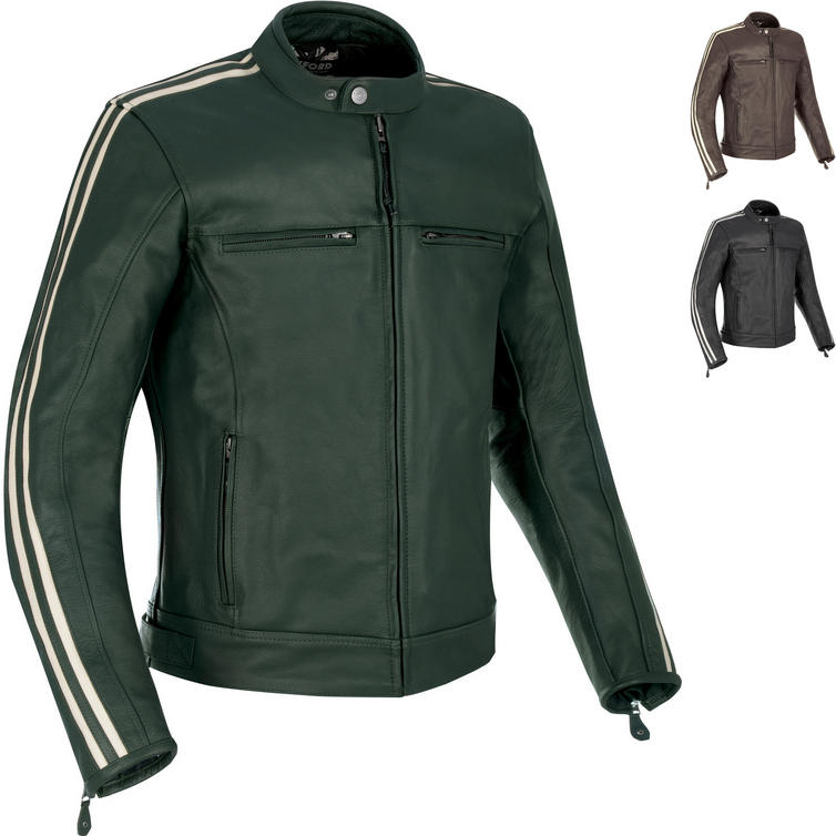 Oxford Bladon Leather Motorcycle Jacket