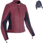 Oxford Beckley Ladies Leather Motorcycle Jacket