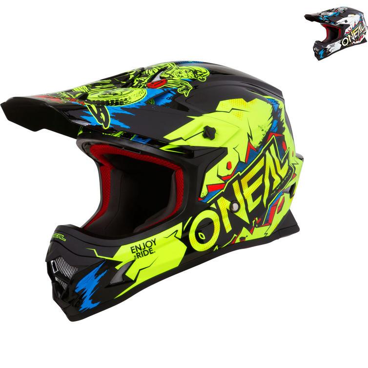 Oneal 3 Series Villain Motocross Helmet
