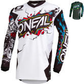 Oneal Element 2019 Villain Youth Motocross Jersey