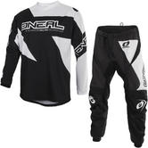 Oneal Matrix 2019 Ridewear Motocross Jersey & Pants Black Kit
