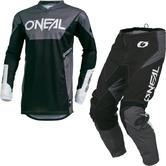Oneal Element 2019 Racewear Motocross Jersey & Pants Black Kit