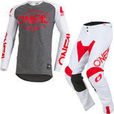 Oneal Mayhem Lite 2019 Hexx Motocross Jersey & Pants White Kit