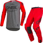 Oneal Mayhem 2020 Hexx Motocross Jersey & Pants Red Kit