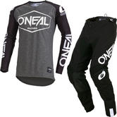 Oneal Mayhem Lite 2019 Hexx Motocross Jersey & Pants Black Kit