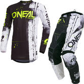 Oneal Element 2019 Shred Youth Motocross Jersey & Pants Black Kit