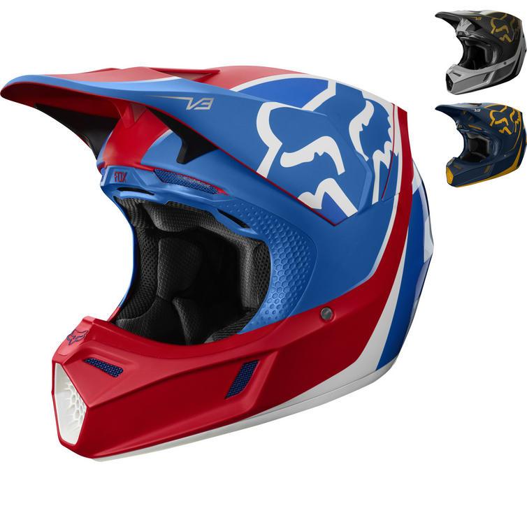 Fox Racing V3 Kila Motocross Helmet