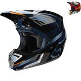 Fox Racing V3 Motif Motocross Helmet