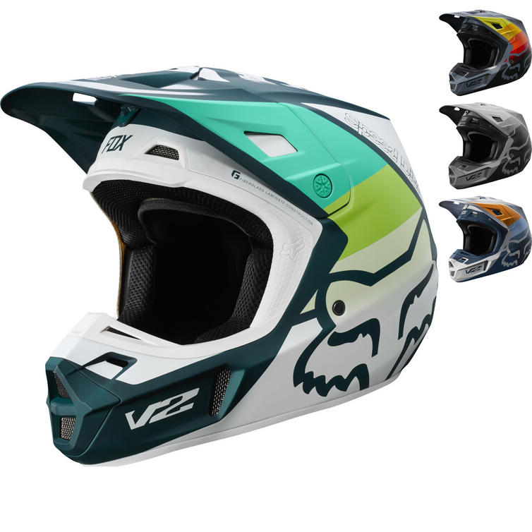 Fox Racing V2 Murc Motocross Helmet
