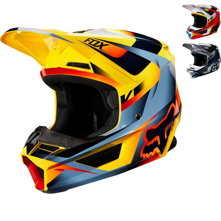 Fox Racing V1 Motif Motocross Helmet