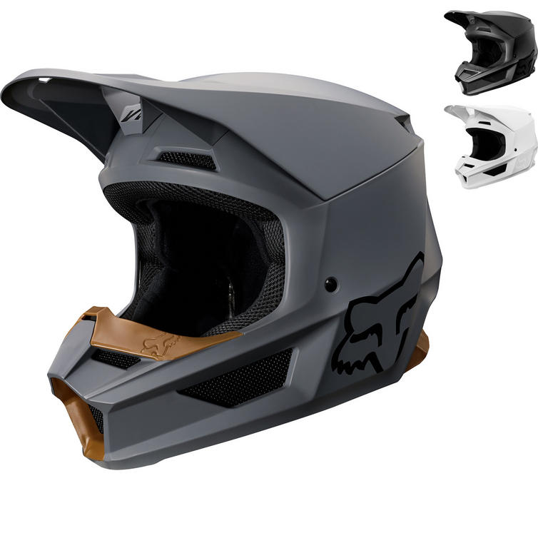 Fox Racing 2019 V1 Matte Motocross Helmet
