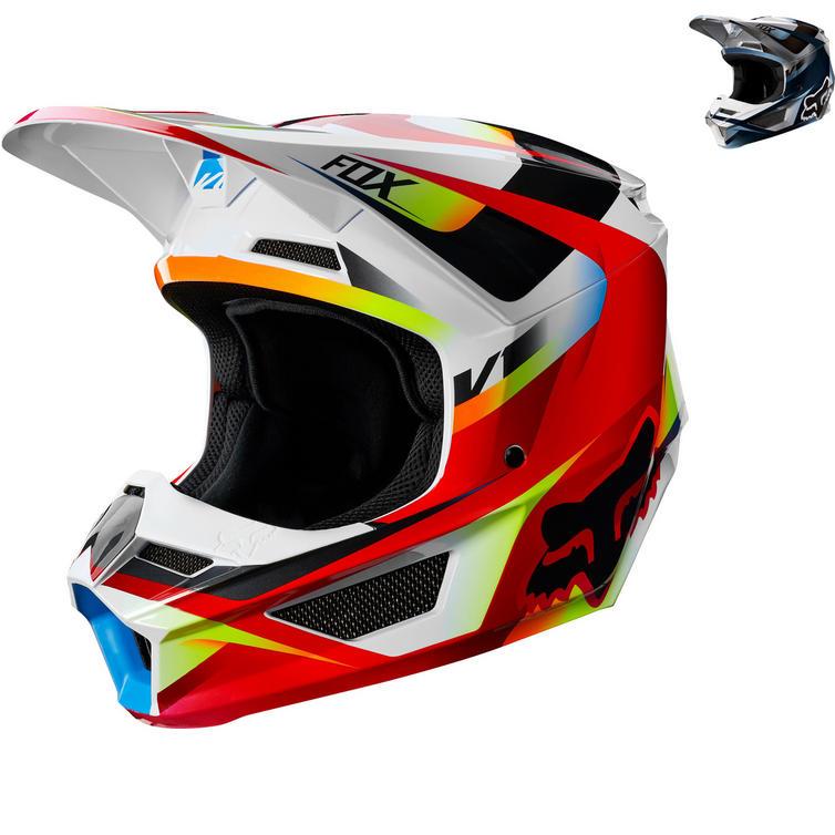 Fox Racing Youth V1 Motif Motocross Helmet