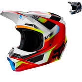 Fox Racing Youth V1 Motif Motocross Helmet