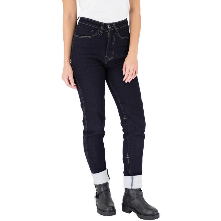 Knox Dakota Dyneema Regular Fit Ladies Indigo Blue Motorcycle Jeans