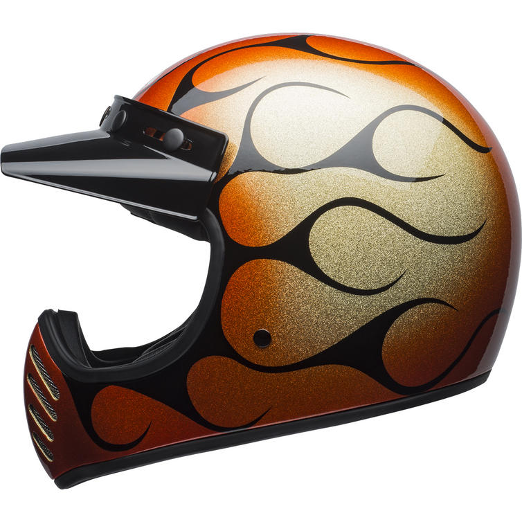 Bell Moto-3 Chemical Candy Flames Motorcycle Helmet