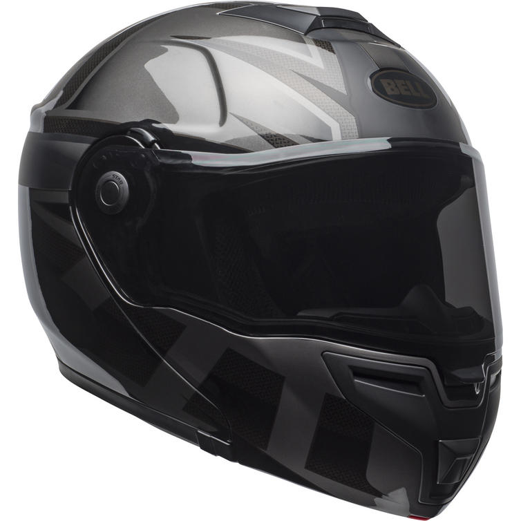 Bell SRT Blackout Flip Front Motorcycle Helmet