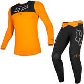 Fox Racing 2019 Flexair Royl Motocross Jersey & Pants Orange Flame Kit